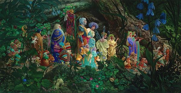 James ChristensenThe Royal Processional Masterwork Canvas Edition