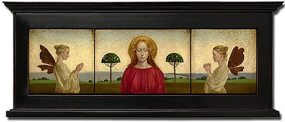 James Christensen Madonna With Two Angels Framed Limited Edition Canvas