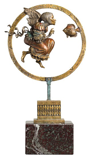 James Christensen Benediction LIMITED EDITION BRONZE Bronze Sculpture
