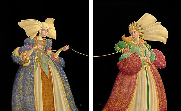 James Christensen The Tie That Binds Limited Edition DIPTYCH Print