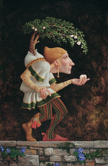 James Christensen The Fruits of Adversity Giclee On Canvas