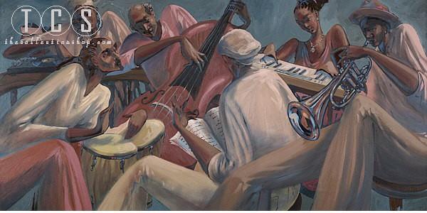 John HolyfieldRhythm And Rhyme Canvas