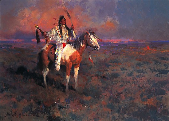 James Reynolds Mystic Of The Plains Limited Edition Print