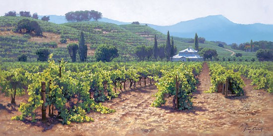June Carey Sonoma Valley Summer MASTERWORK EDITION ON Canvas
