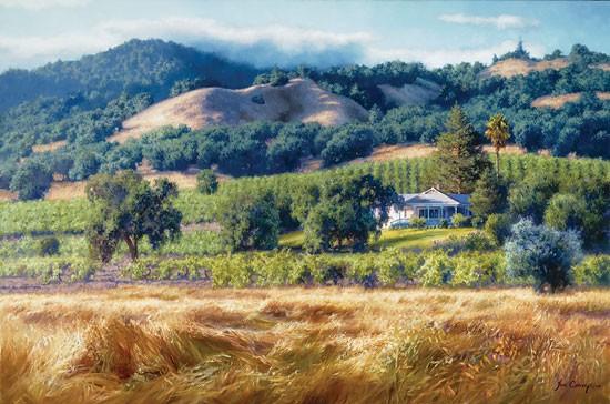 June CareyAlexander Valley WineryCanvas