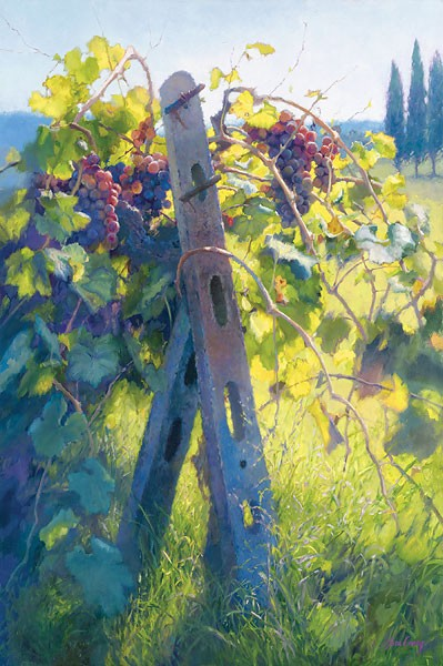 June Carey Imported Vines Canvas