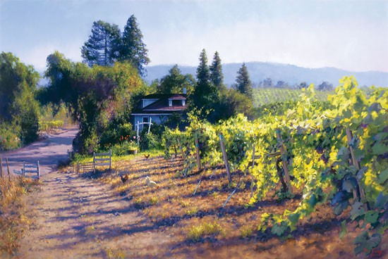 June Carey My Sonoma Canvas