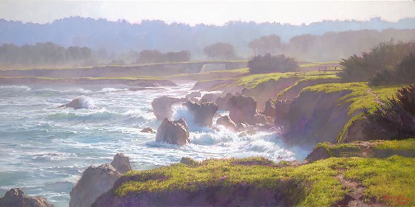 June Carey Mendocino Canvas