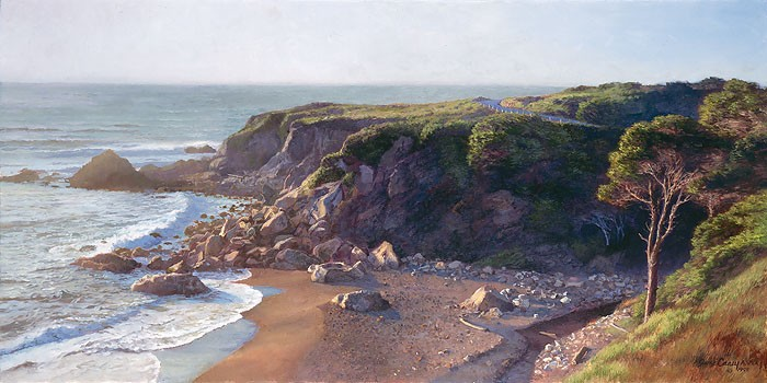 June Carey Hidden Cove Canvas