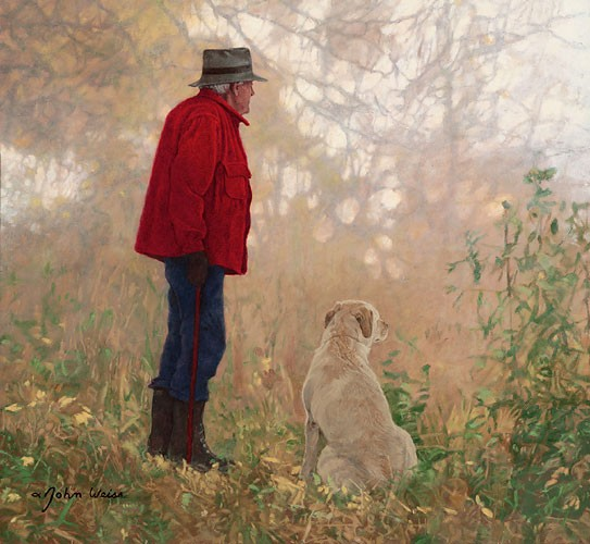 John Weiss Autumn Friends Canvas