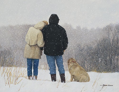 John Weiss Tender Moments Canvas