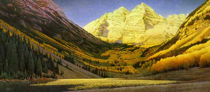 Scott Kennedy Rocky Mountain Gold Limited Edition Print