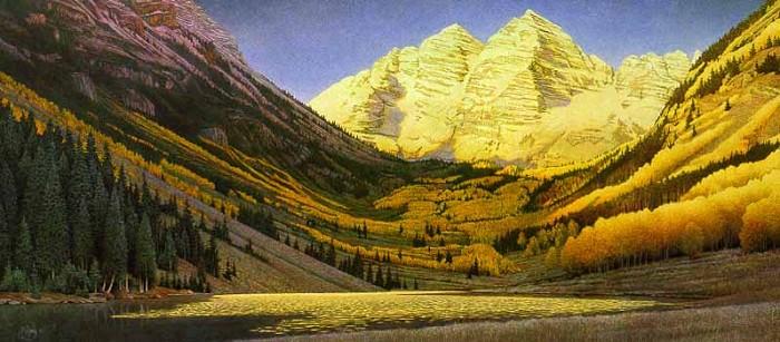 Scott KennedyRocky Mountain Gold Limited Edition Print