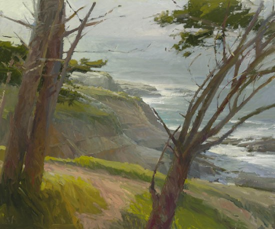 Ken Auster La Jolla Light MASTERWORK EDITION ON Canvas