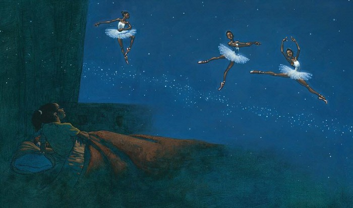 Kadir Nelson Dancing On The Milky Way Giclee Remarque