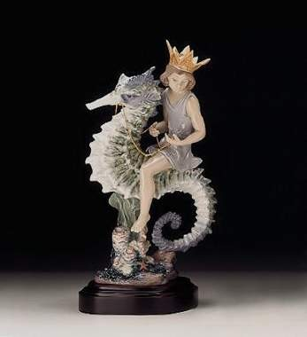 LladroPrince Of The SeaPorcelain Figurine