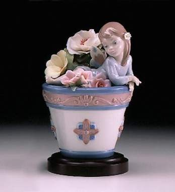 Lladro Butterfly Fantasy Porcelain Figurine