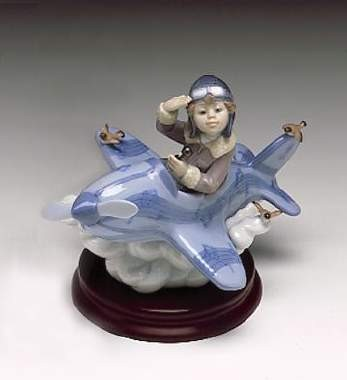 Lladro Over The Clouds