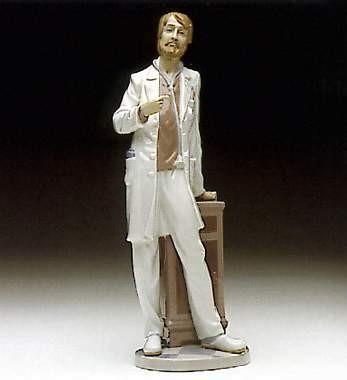 LladroPhysicianPorcelain Figurine