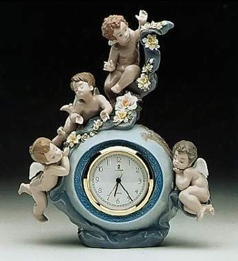 Lladro Angelic Time