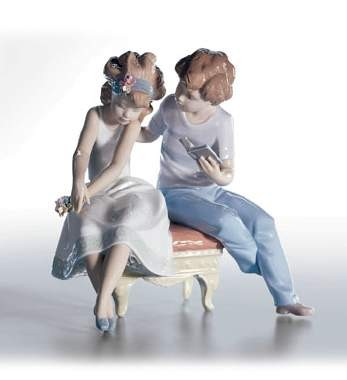 Lladro A Poem For My Girl Porcelain Figurine