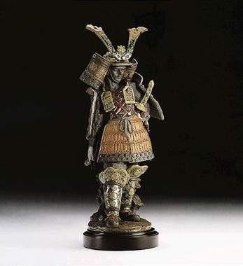 LladroSamuraiPorcelain Figurine