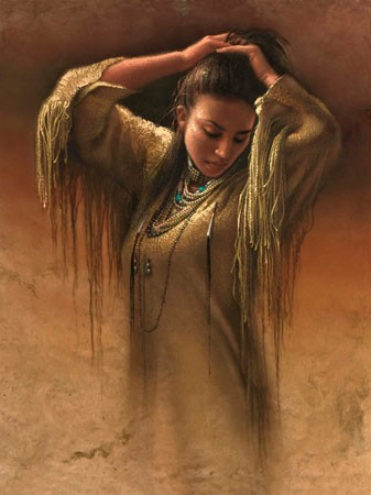 Lee Bogle Morning Light Giclee On Canvas