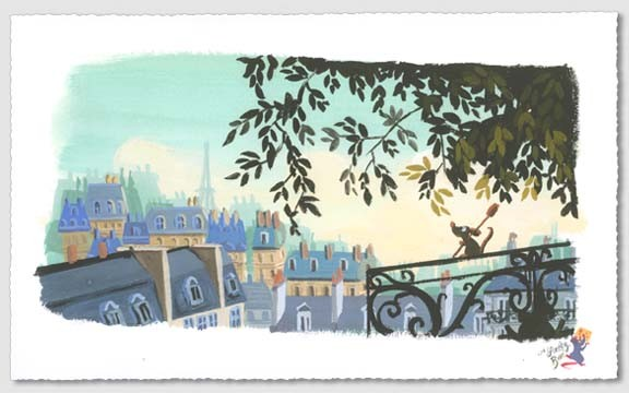 Lorelay Bove The Flavor of Paris Premiere Giclee On Paper