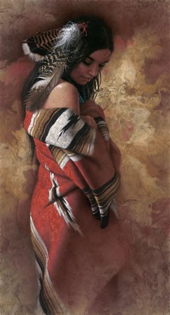 Lee Bogle Serenity Giclee On Canvas