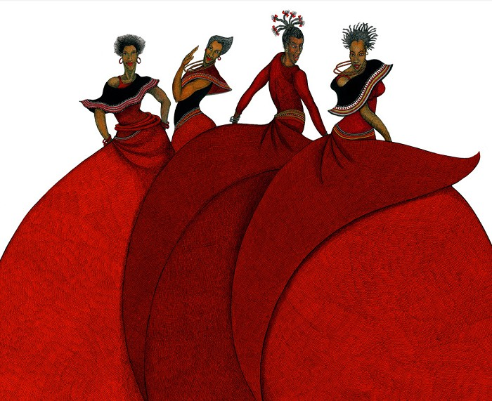 Charles Bibbs Sisters In Motion Limited Edition Special Artist Edition