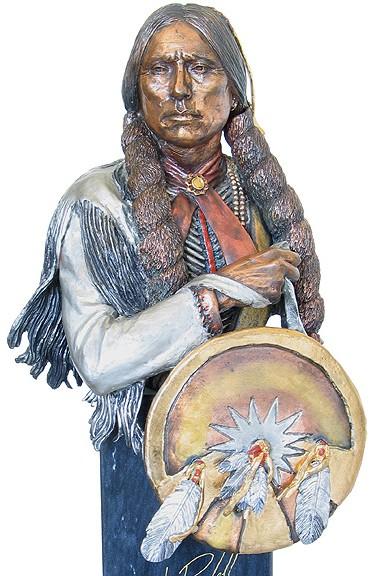 Christopher PardellDefiant Comanche - Chief Quanah ParkerMixed Media Sculpture