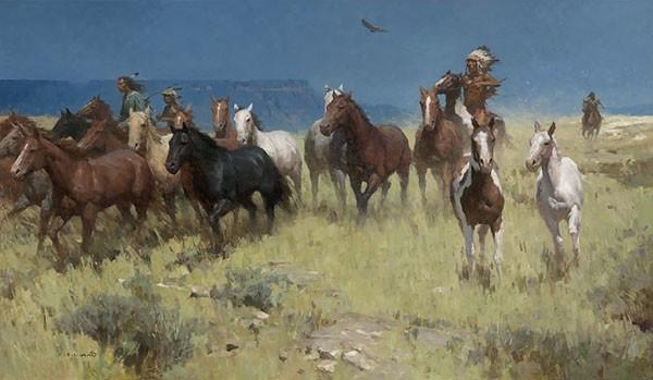 Z.S.  LiangPlunder of Many Horses MASTERWORK EDITION ONCanvas