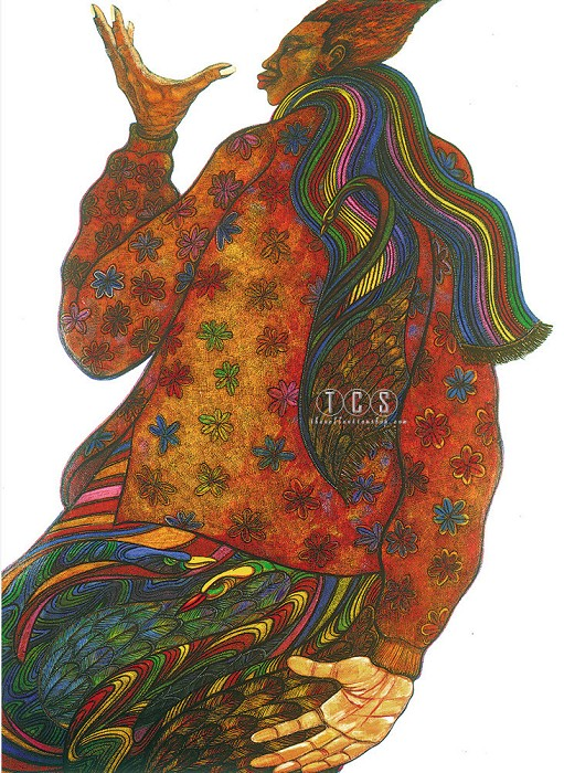 Charles Bibbs Lady Of Color Limited Edition