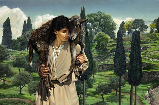 Liz Lemon Swindle THE LAMB OF GOD Canvas