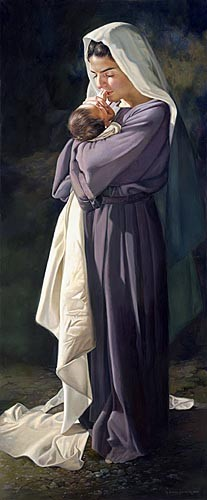 Liz Lemon SwindleMARY'S HEARTGiclee On Canvas