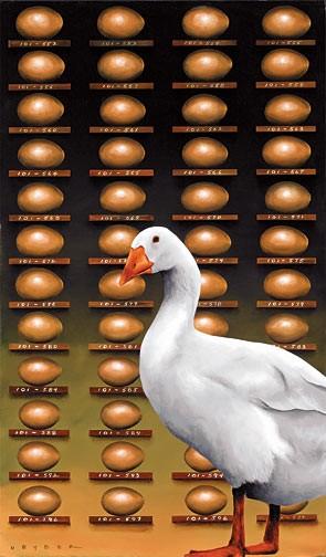 Robert DeyberThe Golden Goose