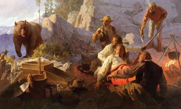 Mian SituThe Intruder Angels Camp California 1849 MASTERWORK EDITION ONCanvas