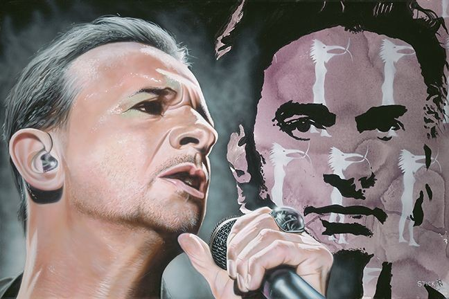 StickmanI'm Not Looking For Absolution - Depeche Mode/Dave GahamGiclee On Canvas