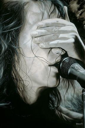 StickmanPictures Have All Been Washed in Black - Eddie Vedder/Pearl JamGiclee On Paper
