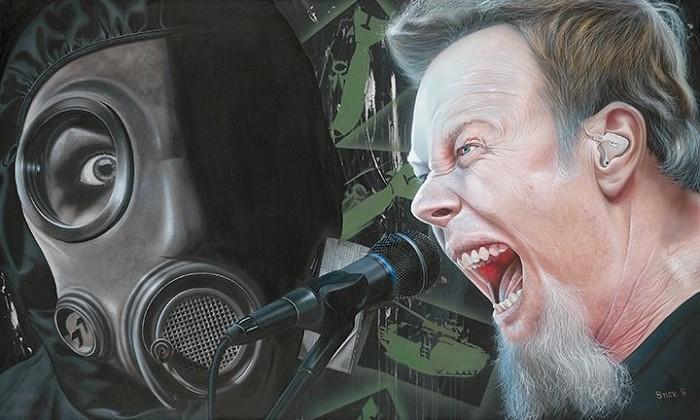 StickmanI'm Your Source of Self Destruction - James Hetfield - MetallicaGiclee On Canvas