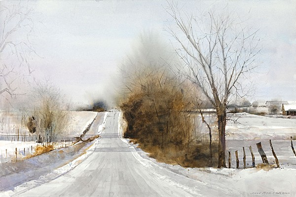 Dean Mitchell Snow Hills Limited Edition Print