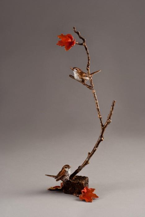 Mark HopkinsBranching OutBronze Sculpture