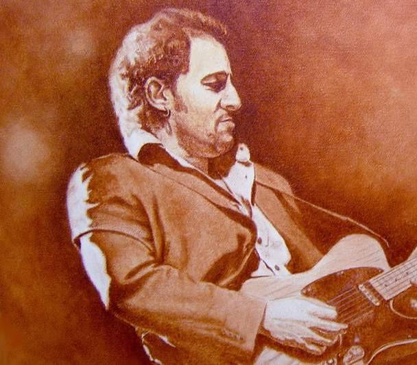 Mike KupkaBruce SpringsteenOriginal Oil on Canvas