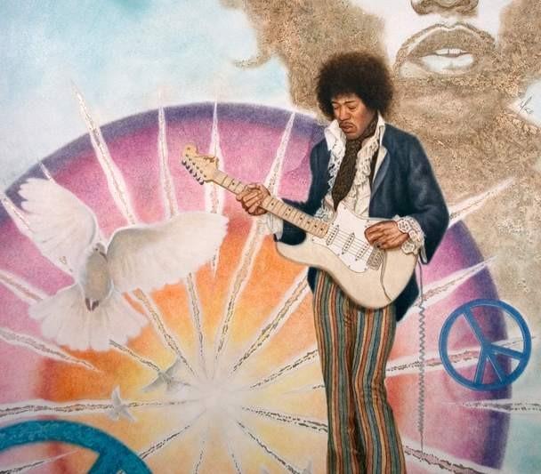 Mike KupkaJimi Hendrix Music Legend