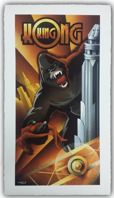 Mike Kungl King Kong Deluxe Giclee On Paper
