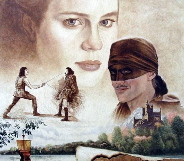 Mike KupkaPrincess Bride 1  Oil on Illustration Board