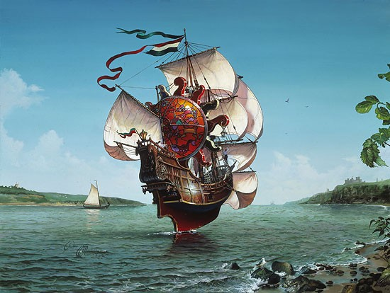Dean Morrisey THE LIGHTSHIP Canvas