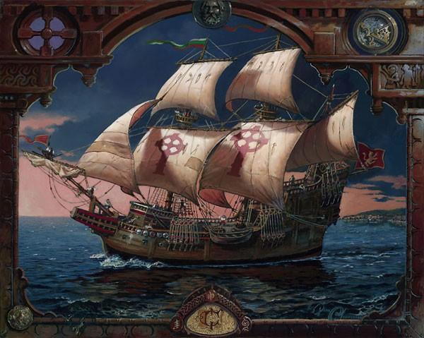 Dean MorriseyThe Voyage of the FiannaCanvas