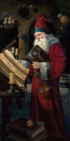 Dean Morrisey Solarus the Wizard MASTERWORK EDITION ON Canvas