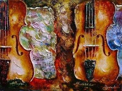 Alexandru DaridaAllegro Moderato Serigraph on PaperGiclee On Canvas